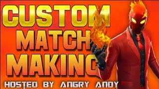 🔴 (NA EAST) CUSTOM MATCHMAKING 🔴 SCRIMS FORTNITE LIVE! PS4,XBOX,PC,SWITCH,MOBILE