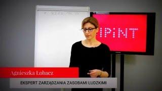 Agnieszka Łobacz ekspert  zarządzania zasobami ludzkimi, trener IPiNT sp. z o.o.
