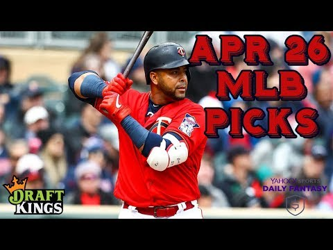 4/26/19 MLB DraftKings & Yahoo Picks