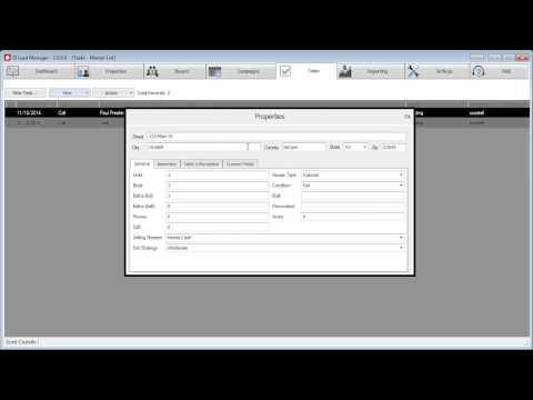 SILMv7 - Tutorials - Tasks - View Lead Information