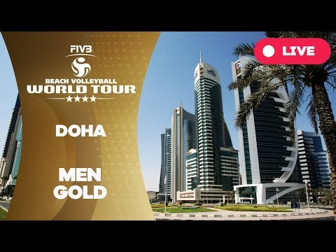 Doha 4-Star 2018 - Men gold - Beach Volleyball World Tour