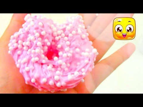 Thumbnail: Bubblegum Floam Slime without Borax! How To Soft Serve Fluffy Slime with Shaving Cream! DIY!