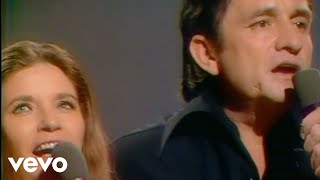 Johnny Cash, June Carter Cash - If I Were a Carpenter (Live in Denmark)