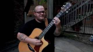"Cas Haley ""Slow Down"" Acoustic In The Alley, Chicago, IL. Video By: RoseMountainPhoto.com"