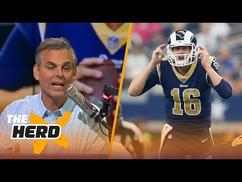 Colin Cowherd learned a ton about Deshaun Watson, Jared Goff, Matt Ryan during Week 4 | THE HERD