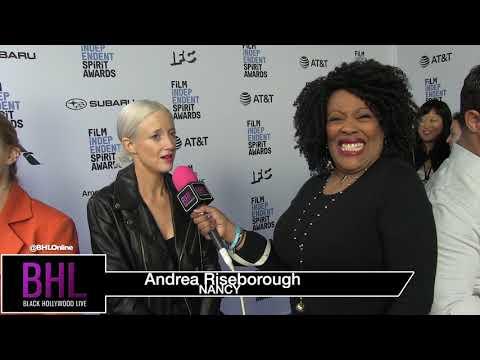 Andrea Riseborugh Nearly in Tears  | Film Independent Spirit Awards Brunch 2019