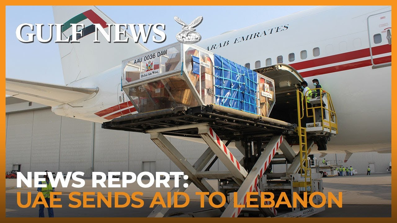 Sheikh Mohammed sends 30 tons of medical aid to Lebanon