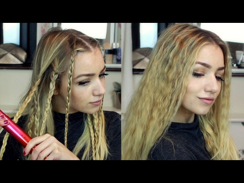 how to get crimped hair without heat