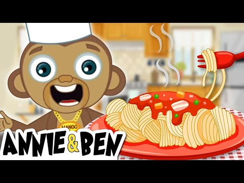 Chef Mango Makes Pasta | Fun Learning Cartoons For Kids | The Adventures of Annie and Ben