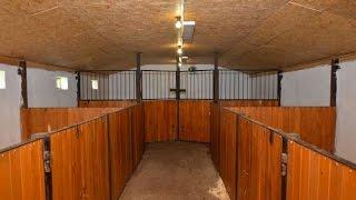 Помещение для содержания коз. 72 квадратных метра. КФХ Семкино подворье