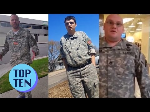 Top 10 Stolen Valor Moments
