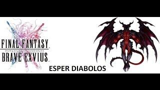 Final Fantasy Brave Exvius Esper Diablos