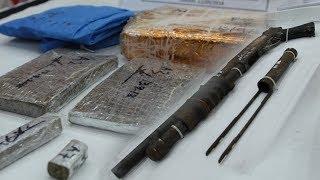 Lelaki ditahan bersama senjata api, dadah