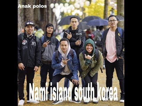 Nami  island Republik #wisata Ke  Pulau Nami  South Korea