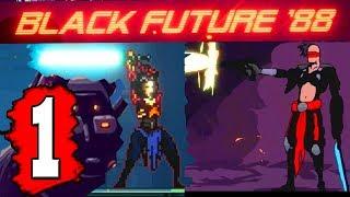 BLACK FUTURE 88: Gameplay Walkthrough Part 1 (FULL GAME) Lets Play Playthrough PC Nintendo Switch