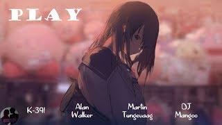 K-391, Alan Walker, Martin Tungevaag ft. DJ Mangoo - Play