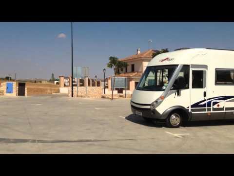 Club Motorhome Aire Videos - Puerto Lapice, Castile la Mancha, Spain