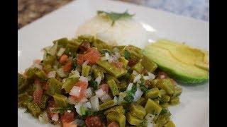 Super Easy Cactus Salad, perfect for Lent season!