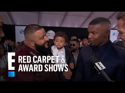 Jamie Foxx & DJ Khaled Talk Friendship at 2017 AMAs | E! Live from the Red Carpet