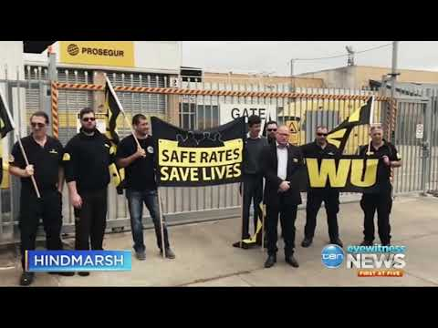 TEN News: Prosegur Locked Out Workers