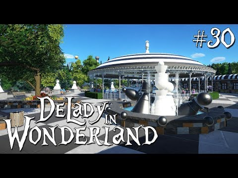 Planet Coaster: DeLady in Wonderland (ft. Mike Sheets) - Toy Land - Ep. 3 - Chess Area