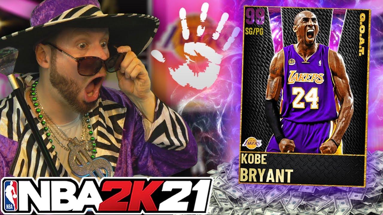 I changed my LIFESTYLE for GOAT KOBE BRYANT! NBA 2K21