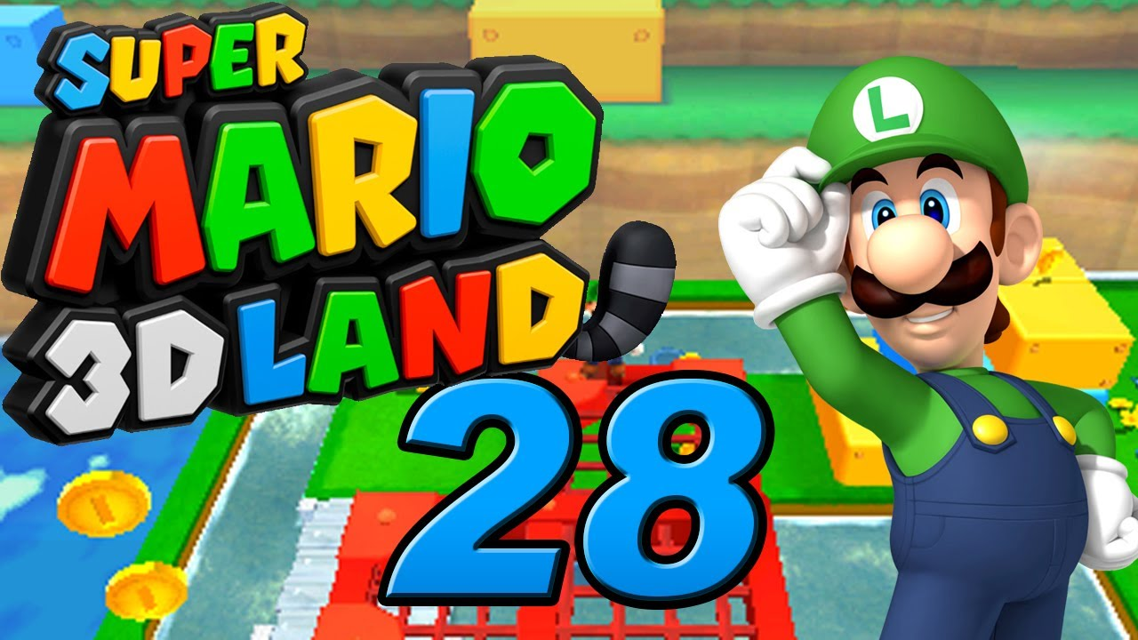 Let S Play Super Mario 3d Land 100 Part 28 Luigi