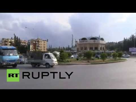 Syria: Life continues in Aleppo, as Russian jets strike IS targets