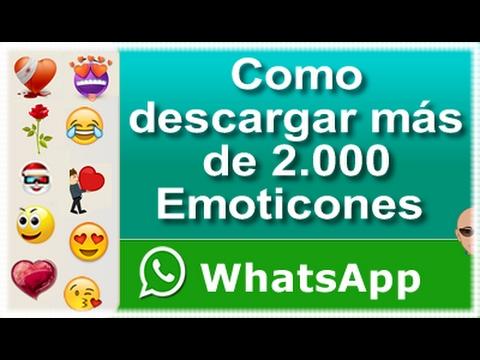 Emoticones Para Whatsapp 100 Gratis Youtube