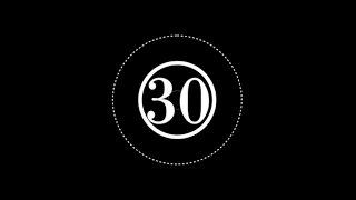 [無料動画] 30秒カウントダウン