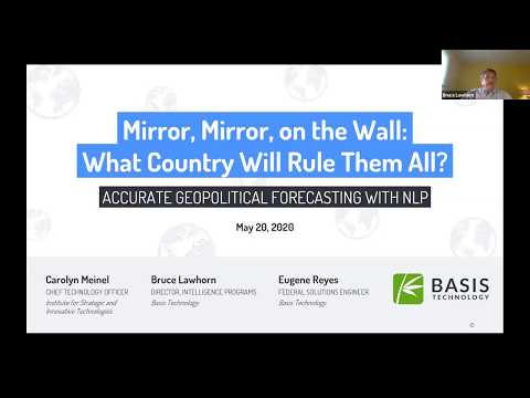 Webinar: Mirror, Mirror, on the Wall: What Country Will Rule Them All?