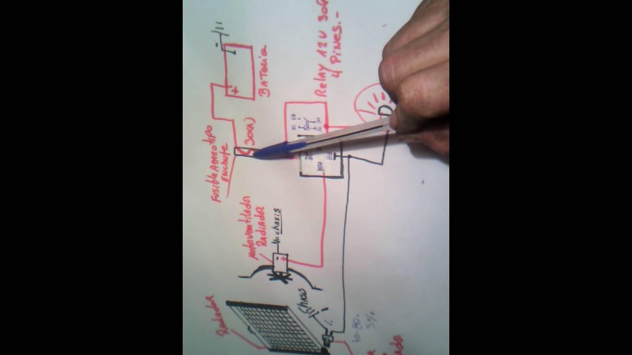 Circuito Ventilador : Como hacer circuito electro ventilador casero youtube