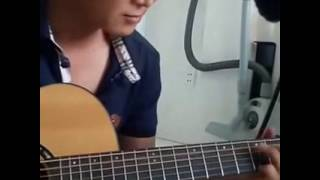 Vùng Lá Me Bay guitar solo [Mitxi Tòng]