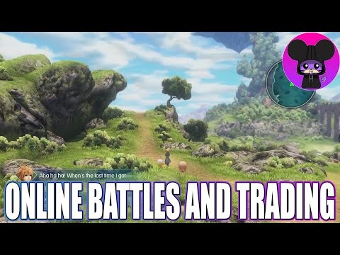 Trade monsters and battle your friends online! World of Final Fantasy News
