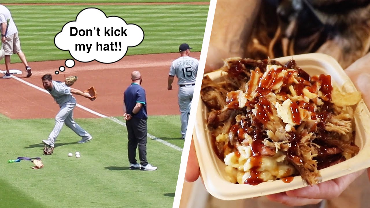 Pre-game meltdown, AMAZING FOOD, and a scary overthrow at Comerica Park