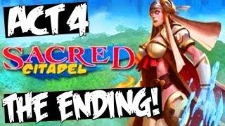 SACRED CITADEL- ENDING ACT 4 FINAL BOSS: Inner Sanctum Walkthrough [HD]