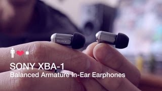 sony XBA-1 Earphones Review: A Practical Design