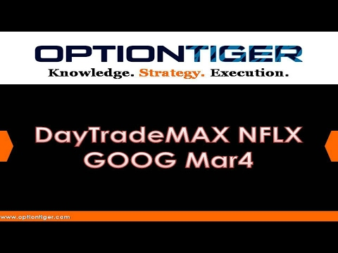 DayTradeMAX NFLX GOOG Mar4 by Options Trading Expert Hari Swaminathan