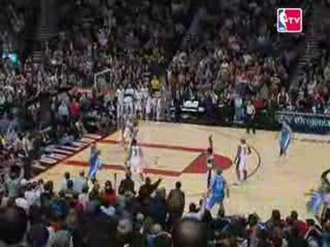 NBA Season - Denver Nuggets - Portland Trail Blazers