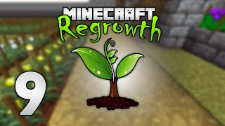 Modded Minecraft: Regrowth HQM - 9 - Quest for the BEST block!