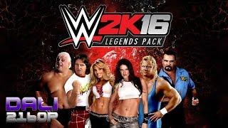 WWE 2K16 Legends PC UltraHD 4K Gameplay 60fps 2160p
