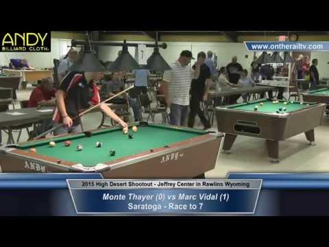 Marc Vidal vs Monte Thayer - 2015 HDS Saratoga