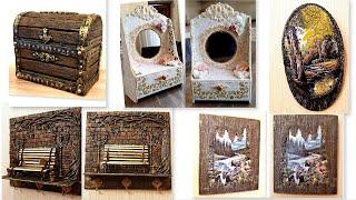 DIY/ 5 Best Ideas of Recycled Cardboard /Home decor/Tutorial