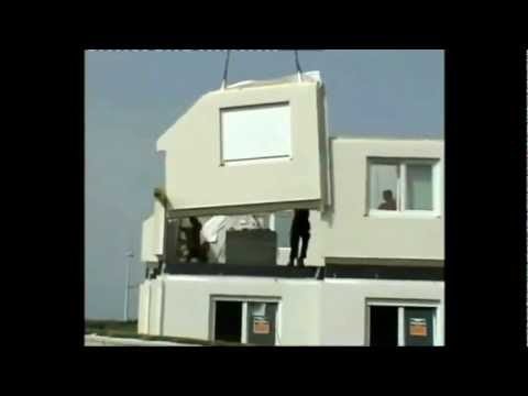 case in legno prefabbricate maison bois pr fabriqu e youtube. Black Bedroom Furniture Sets. Home Design Ideas