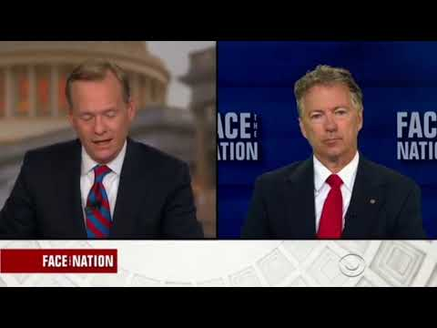 Rand Paul on Face The Nation | Full Interview