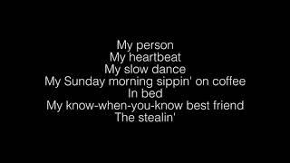 Spencer Crandall- My Person Lyrics