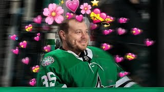 Anton Khudobin giving off pure serotonin for 5 minutes straight