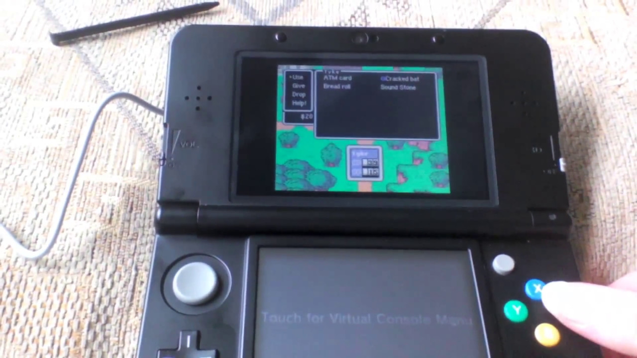 Earthbound on New Nintendo 3ds