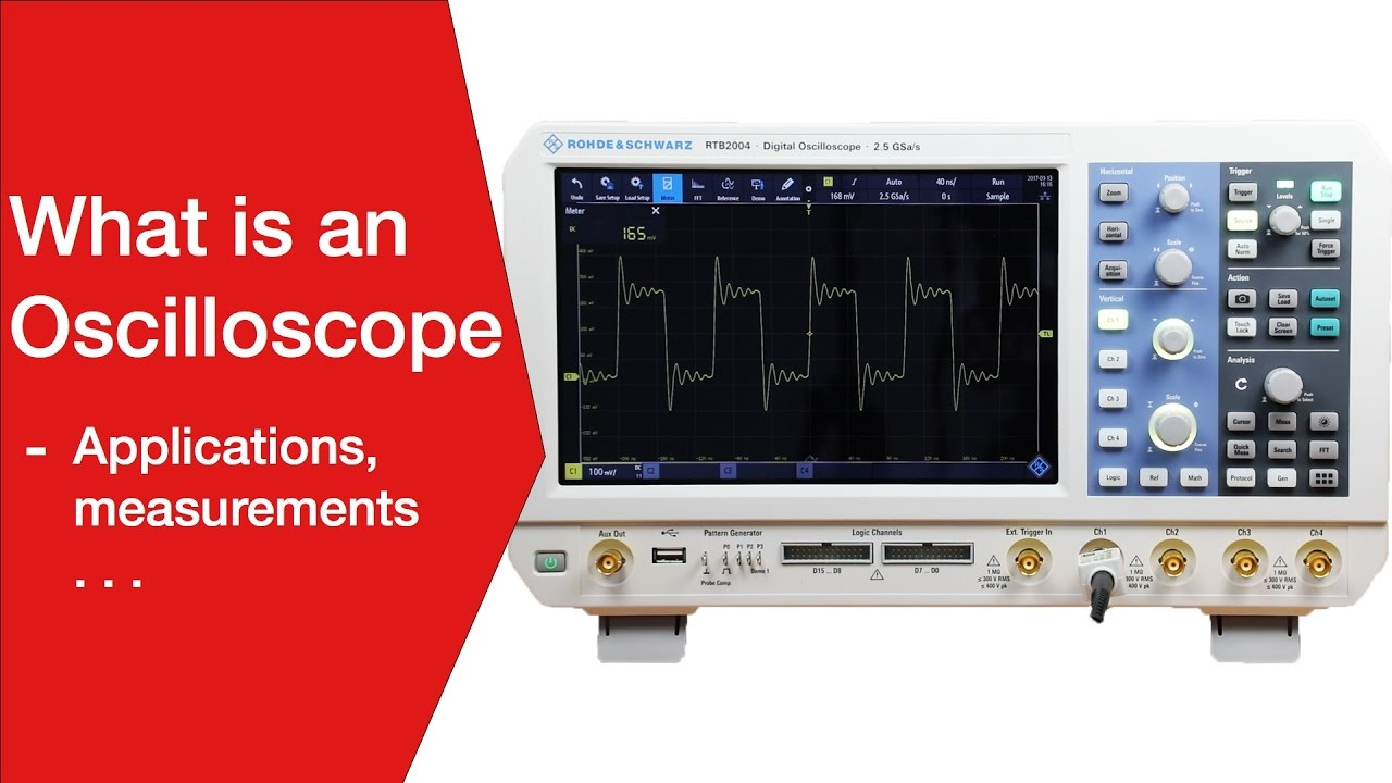What is an Oscilloscope » Electronics Notes