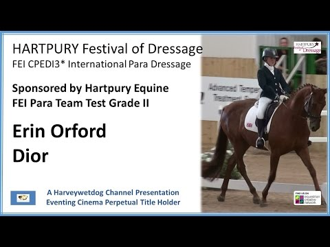 Erin Orford: Hartpury Festival of Dressage